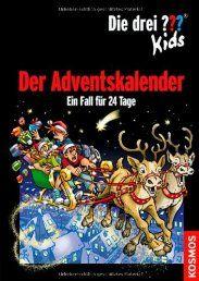 Die drei ??? Kids: Der Adventskalender (drei Fragezeichen): Ein Fall für 24 Tage