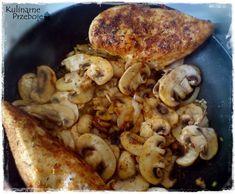 Piersi z kurczaka z mascarpone i pieczarkami Paleo, Soup, Chicken, Meat, Baking, Recipes, Polish, Mascarpone, Rezepte
