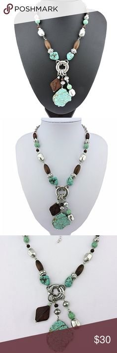 🆕 Chunky Statement Necklace Brand new. Jewelry Necklaces