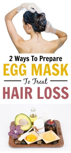 2 Simple Ways To Prepare Egg Mask To Treat Hair Loss