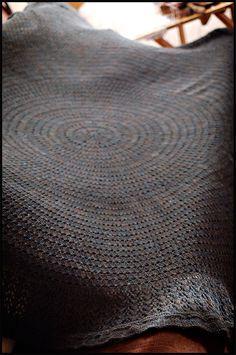 Ravelry: PI Shawl (July) pattern by Elizabeth Zimmermann