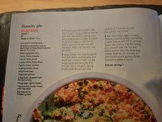 Slimming world homity pie Homity Pie, Vegetarian Recipes, Healthy Recipes, Slimming World Recipes, Mashed Potatoes, Spinach, Mustard, Oven, Baking