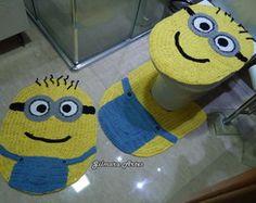 Jogo de banheiro Minions Bnh 074