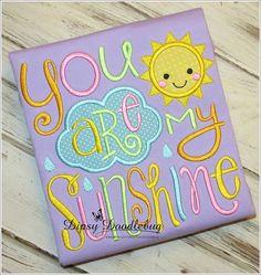You Are My Sunshine Girls Pajamas -  Short Sleeve  Pajamas- Girls Pajamas -Sunshine Pajamas- Toddler Pajamas- You are my Sunshine