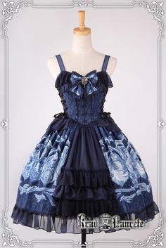Preorder: Krad Lanrete™ Medusa Theme Lolita Jumper Dress (Version I) >>> https://www.facebook.com/MyLolitaDress/posts/787860461281173