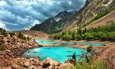 Natlar lake - Pakistan