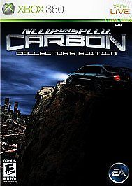 Need for Speed: Carbon -- Collector's Edition XBOX 360 GAME COMPLETE