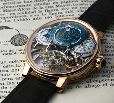 Bovet Récital 20 Astérium with a night sky chart, perpetual calendar, and a celestial array of astronomical functions, all with a 10-day power reserve...more pictures and facts in our latest article..  Dicover it: http://www.ablogtowatch.com/bovet-recital-20-asterium-watch/  #sihhabtw