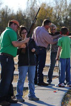 Kids vs Mom/Dad Trap Shoot