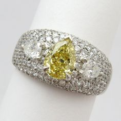 Legacy Yellow Diamond Masterpiece Ring | D&H Sustainable Jewelers