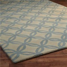 Wedding Rings Tufted Trellis Rug - Shades of Light Teal Rug, Candice Olson, Trellis Rug, Nursery Rugs, Bedroom Decor, Bedroom Ideas, Master Bedroom, Contemporary Rugs, Color Shades