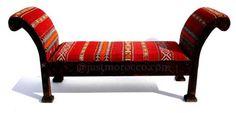 kilim bench