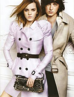 George Craig and Emma Watson | Burberry SS10