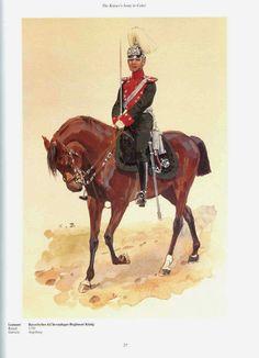 royaume de Bavière - 4° régiment de chevau-legers