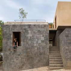 Rozana Montiel has completed a four-bedroom home in Tepoztlán, using local materials was a way to integrate the home into its natural setting.