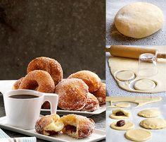 Opskrift på Berlinere og doughnuts fra - Hjemmet