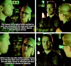 Peptalks from Felicity, as a loyal partner and genuine friend, are the best. I've missed them. | 5x02