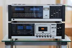 jr-s 200 ii receiver + jvc tape deck - Brno - Bazoš. Music System, Deck, Organization, Electronics, Retro, Tape, Vintage, Ebay, Hi Fi Audio