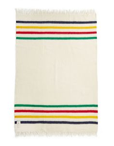 HBC Collections | Blankets & Throws | Multi Stripe Caribou Throw | Hudson's Bay
