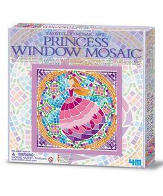 This Princess Window Mosaic Kit is perfect! #zulilyfinds