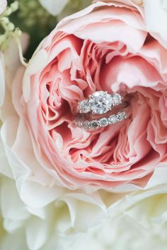 Circle-cut diamond ring: Catering: Forklift Catering - http://www.stylemepretty.com/portfolio/forklift-catering Photography: Jenny Moloney Photography - jennymoloney.com   Read More on SMP: http://www.stylemepretty.com/2017/02/06/anything-but-boring-backyard-wedding-in-massachusetts/