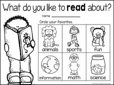Here is another {FREE} reading survey for the primary