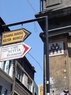 SPACE INVADER - Istanbul by Antonia Schulz, via Flickr