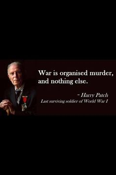 """War is as essential to the Human Race as breathing,there has never been a point…"