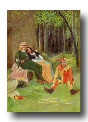 Tales from Shakespeare - by Lamb & Stokes. Illustrations by Maria L. Kirk http://karenswhimsy.com/tales-from-shakespeare.shtm