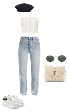 a96a1383bde2f0 Untitled  88 by lilikun ❤ liked on Polyvore featuring Yves Saint Laurent