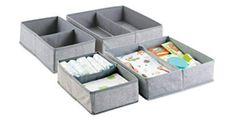 Now you can organize your baby clothes, socks, pajamas & so much more with this Fabric Dresser Drawer & Closet Storage Organizer Set for Children fabricdresser Dresser Drawer Organization, Sock Organization, Storage Drawers, Storage Organizers, Organizing Tips, Fabric Dresser, Dresser Drawers, Organize Fabric, Organize Socks