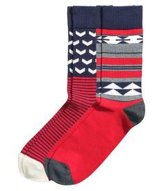 H&M 2-pack Socks $5.95