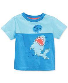 First Impressions Baby Boys' Shark Tee
