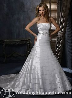 Goodbye....Maggie Sottero Discontinued Wedding Dresses. BUT we have similar styles for you!! Check out the blog! :)