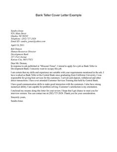 cover letter for banking position httpjobresumesamplecom1603 - Cover Letter For Banking