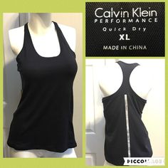 ☀️Calvin Klein Bra Top Measurements are in photos. Normal wash wear, no flaws. A3  Ask about a bundle discount on all items that are not ⏰Flash Sale items! I ship everyday. I always package safely. If I run out of boxes, I will use priority bags over a polymailer bag. If you prefer to only receive this great item in a box, please let me know! Thanks! Calvin Klein Tops Tank Tops