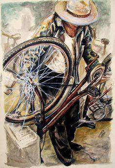 The Bicycle Man by ~zoshalucyna on deviantART