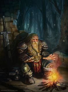 dwarf by kikicianjur.deviantart.com on @deviantART