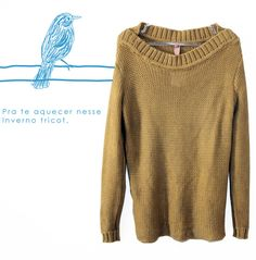 O tricô que te aquece nesse inverno! #inverno16 ❄⛄ Disponível loja física.  Entregamos para todo o Brasil