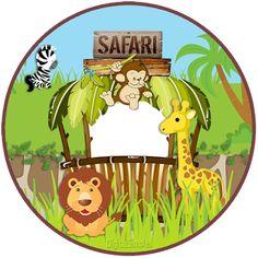 Kit Imprimible GRATIS Animalitos Safari