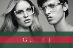 Julia Frauche for Gucci Eyewear Spring 2012 Campaign by David Vasiljevic