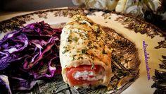 Adiós a la Báscula: Tortilla enrollada con salmón ahumado y queso fresco