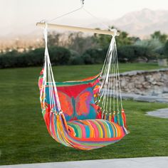 Have to have it. Magnolia Casual Butterfly Hammock Chair & Pillow Set $159.99