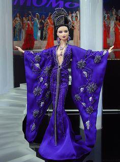 Miss Indonesia 2012 by Ninimomo Dolls