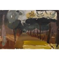 Ivon Hitchens - Larchwood Path