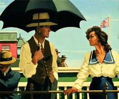 """Summertime""Jack Vettriano"