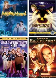 It's not Halloween but let's be honest these are the best movies ever. Its cold though so close enough :) More Halloween costumes Halloween decorations Halloween food Halloween ideas Halloween costumes couples Halloween from brit + co Halloween Halloween Town, Halloween Movies, Disney Halloween, Holiday Movies, Spooky Halloween, Halloween Crafts, Halloween Ideas, Halloween Decorations, Halloween Costumes