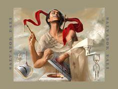 Yo amo la Pintura Surrealista :D: Salvador Dalí y sus pinturas.