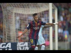 Neymar vs Granada • La Liga • 27/9/14 [HD]