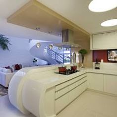 Retrofit Casa Swiss Park Campinas: Cozinhas Moderno por Designer de Interiores e Paisagista Iara Kílaris